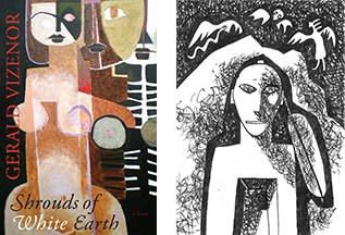 Shrouds of White Earth, with cover art and original illustrations by by Pierre Cayol.
